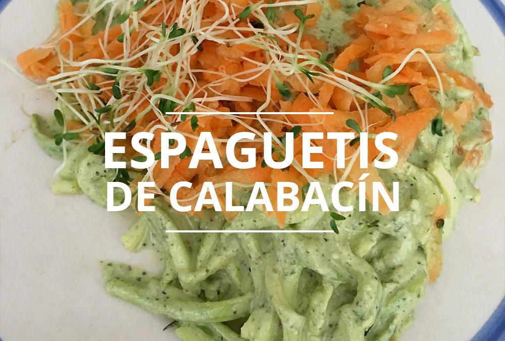 ESPAGUETIS DE CALABAZÍN