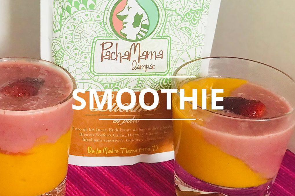 Smoothie Piña y Fresa