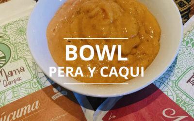 BOWL PERA Y CAQUI